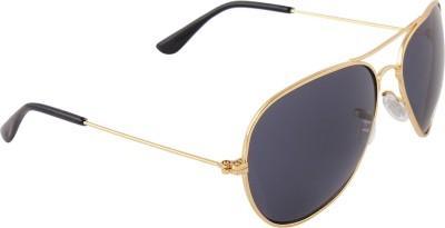 Malocchio Solid Delight Aviator Sunglasses