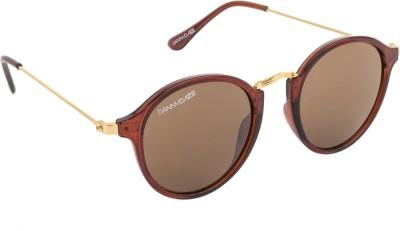 Danny Daze D-2527-C3 Round Sunglasses