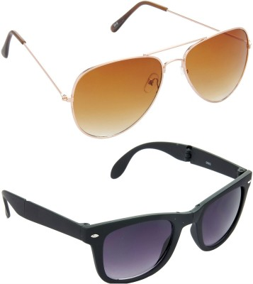 Red Leaf RCMB008_1 Aviator, Wayfarer Sunglasses(For Boys)
