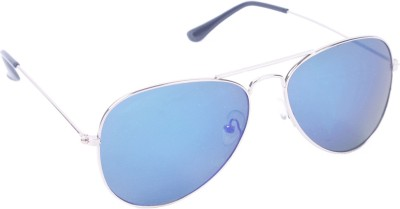 6by6 SG292 Aviator Sunglasses(Blue)