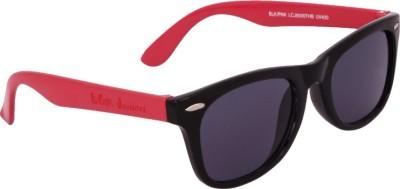 Lee Cooper LC Junior THB 8500 BLKPNK Wayfarer Sunglasses(Grey)