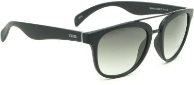IDEE IDEE-2037-C3 Round Sunglasses(Green)