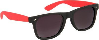 Cristiano Ronnie Black & Red Polarised lenses Wayfarer Sunglasses