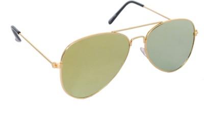 Sellebrity Elegant Yellow Aviator Sunglasses Aviator Sunglasses