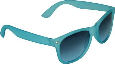 Garmor (8903522115189/Black Color Blue Frame) Wayfarer Sunglasses