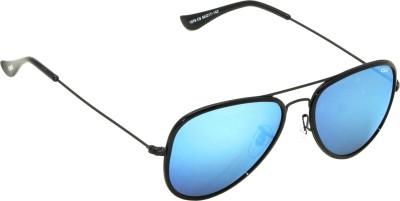 IDEE IDEE-S1976-C6 Aviator Sunglasses(Blue, Multicolor)