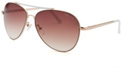 Kenneth Cole KC1226@6024F Aviator Sunglasses(Brown)