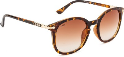 Rafa Chrome Round Sunglasses