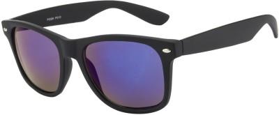 Crazy Eyez Black Jack Wayfarer Sunglasses