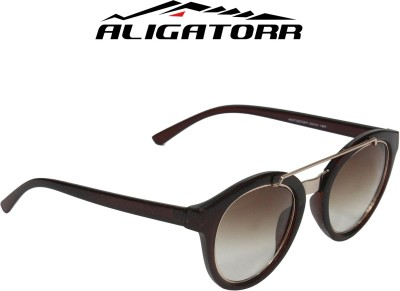 Aligatorr Oval Sunglasses