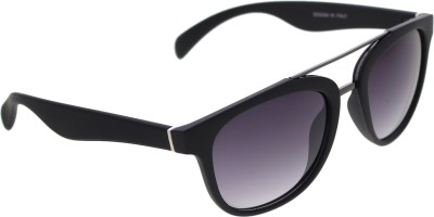 Vast TOPBAR_WAYFARER_BLACK_GREY Wayfarer Sunglasses(Grey)