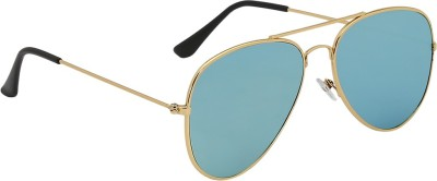 Olvin OL306-07 Aviator Sunglasses(Green)