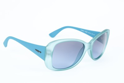 Vogue VOGUE-2843-S 2152-8F Cat-eye Sunglasses(Grey, Blue)