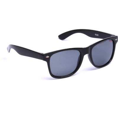 Beqube BB01 Wayfarer Sunglasses(Black)