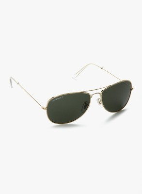 Joe Black JB-754-C2P Aviator Sunglasses(Green)