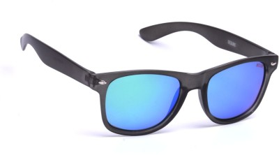Beqube MG01 Wayfarer Sunglasses(Blue)