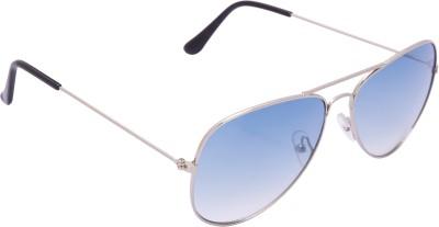 Xlnc Golden Frame Aviator Sunglasses