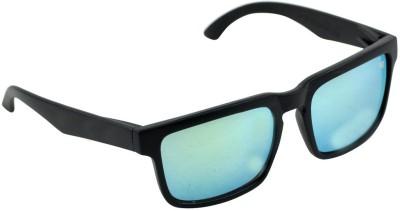 Alphaman Black Hawkeye Sea Hawks Style Wayfarer Sunglasses