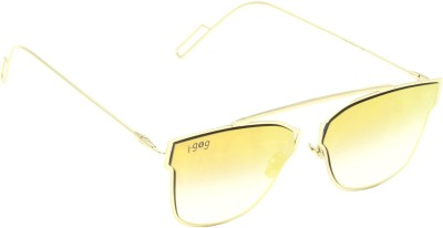 I-GOG Wayfarer Yellow Mirror Wayfarer Sunglasses