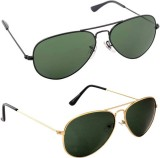 Prism BGAS2B02 Aviator Sunglasses (Black...