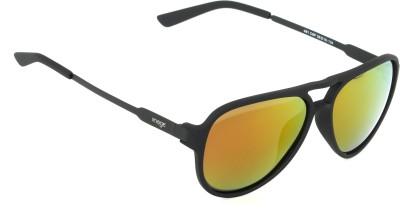 IMAGE IM-481-C6-P Aviator Sunglasses(Multicolor, Orange)