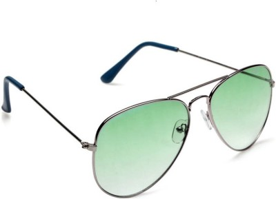 Simran SM86 GREEN Aviator Aviator Sunglasses