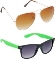 Red Leaf RCMB020_1 Aviator Wayfarer Sunglasses(For Boys)