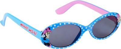 Disney Minnie Mouse Dot Print Kids Sunglasses - Blue / 3 - 12 Years Oval Sunglasses