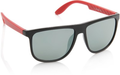 Joe Black JB-485-C5 Wayfarer Sunglasses(Green, Grey)