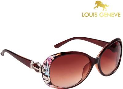 Louis Geneve Oval Sunglasses