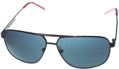 Kenneth Cole KC1265@6101A Rectangular Sunglasses(Grey)