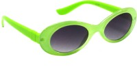Goggy Poggy Baby-BB105-C12 Oval Sunglasses(For Girls)