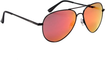 Polaroid P4139E KIHL6 Aviator Sunglasses(Grey, Red)