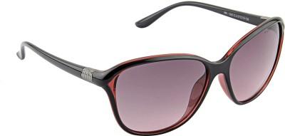Farenheit 1282 Cat-eye Sunglasses(Black)