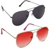 Savannah 20+2022 Aviator Sunglasses (Mul...