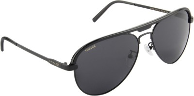 Voyage V3049MG1124 Aviator Sunglasses(Black)