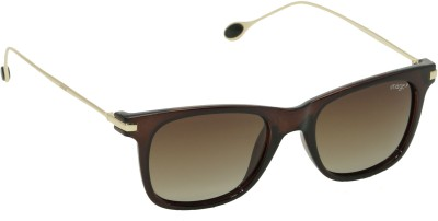IMAGE IM-509-C3P Wayfarer Sunglasses(Brown)
