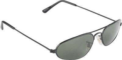 Incraze Solid Delight Oval Sunglasses