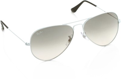 Ray-Ban 0RB3025I 032/32 Aviator Sunglasses(Grey)