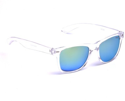 Beqube TLG001 Wayfarer Sunglasses(Green)