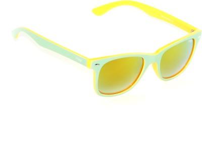 IMAGE IM-449-C15 Wayfarer Sunglasses(Multicolor, Yellow)