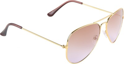 Fashion Hikes Solid Aviator Sunglasses