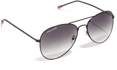 Danny Daze D-786-C5 Aviator Sunglasses(Grey)