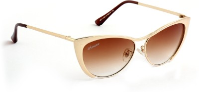 Amaze AM0965 Cat-eye Sunglasses(Brown)