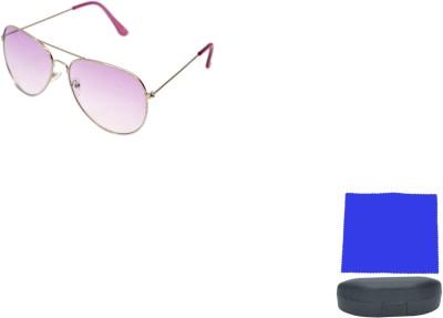 HIGHWAY CRAZE Aviator Sunglasses