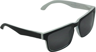 Alphaman Bad Boy in Black and White Wayfarer Sunglasses