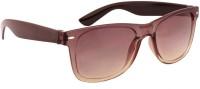 Sushito JSMFHGO0453 Oval Sunglasses(Brown)