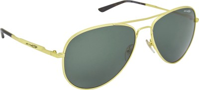 Arnette AN_3065_BLKGLD Aviator Sunglasses(Black)