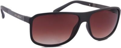 Joe Black JB-704-C3 Rectangular Sunglasses(Brown)