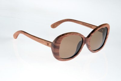 WOOD WORKS INC. Denali Oval Sunglasses